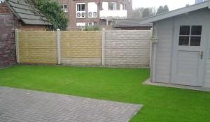 """Mit Gartenpostern könnte man solche """"nackten"""" Flächen einfach und kreativ dekorieren"""