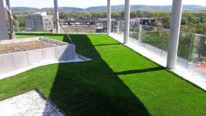 Kunstrasen macht aus jeder Dachterrasse eine grüne Oase