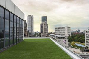 Kunstrasen auf der Dachterrasse vom Hotel Palace Berlin (Copyright Hotel Palace Berlin)